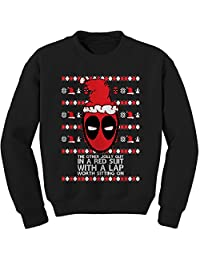 Expression Tees Merc With A Mouth Ugly Christmas Crewneck Sweatshirt
