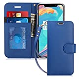 FYY Luxury PU Leather Wallet Case for iPhone Xs (5.8') 2018/iPhone X/10 2017, [Kickstand Feature] Flip Folio Case with...