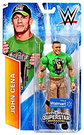 Mattel WWE - Basic: Superstar Entrances John Cena Figure (Walmart Exclusive) by Mattel