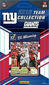New York Giants 2016 Donruss Factory Sealed Team Set with Eli Manning, Odell Beckham, Lawrence Taylor, Eli Apple Rookie Card plus