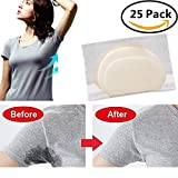50/100/200 PCS Disposable Underarm Armpit Sweat Perspiration Pads Deodorant Clothing Shields - Block Your Sweat (25 Pairs)