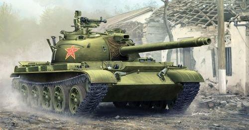 (1:35 Trumpeter Pla Type 62 Light Tank)