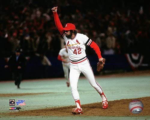 Bruce Sutter St Louis Cardinals 1982 World Series Photo Size: 8 x 10