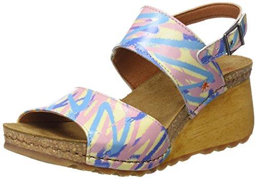Punta Aperta Fantas 1322f Borne 2 Arlekin Sandali Donna Art Multicolore SpxRgwFqp