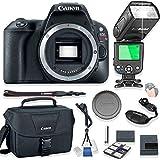 Canon EOS Rebel SL2 Body Only DSLR Camera Kit + Canon Camera Bag + TTL Speed Light Auto Flash + Starter Kit