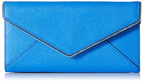 Rebecca Minkoff Cleo On a Chain Wallet, Grecian Blue, One (Boutique Designer Wallet)