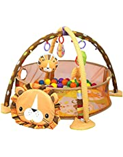 Baby Cartoon Toys Activity Gym Play Mat & Ball Pit Infant Floor Gym Mat