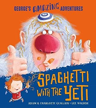 book cover of Spaghetti with the Yeti