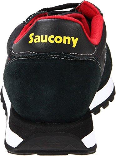 Originali Originali Saucony Mens Jazz Sneaker Nero / Rosso