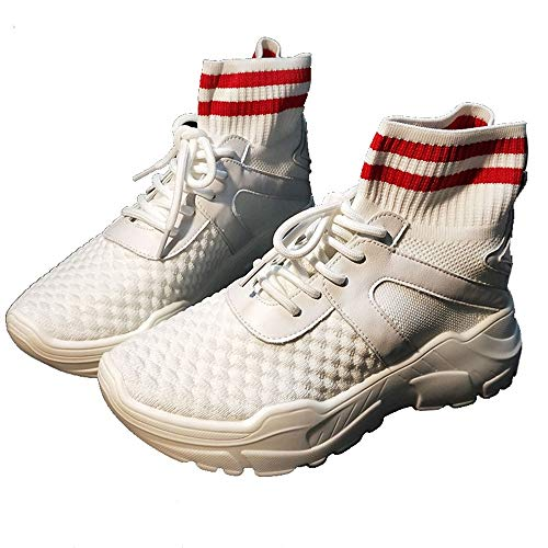 Socks Sports Style High Joker White Style Shoes XINGMU qXWd6wv6