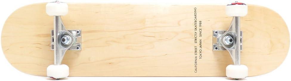 初心者から上級者まで対応 スケボー スケートボード コンプリート セット 完成品 CALIFORNIA STREET COMPLETE SET カリフォルニアストリート SIMPLE 7.75 VENTURE SPITFIRE ブランク BLANK スケートボード スケボー SKATEBOARD クリア LO