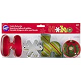 Wilton 2308-3273 Cookie Cutter Set, HOHO