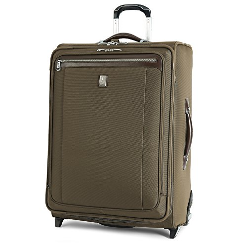 Travelpro Platinum Magna 2 Expandable Rollaboard Suiter Suitcase, 26-in., Olive