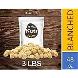 3 LB Blanched/Roasted Hazelnuts (Filberts, No Skin, Kernel)