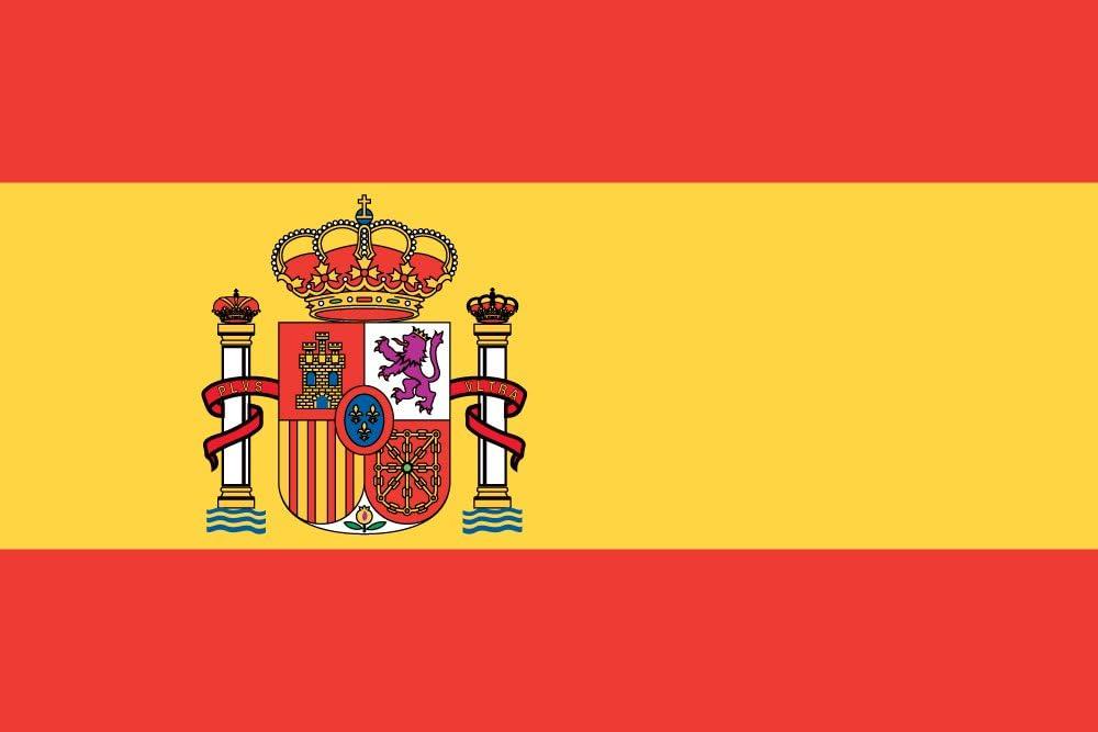 Mi planeta gran 5 x3 bandera de España español Premium calidad partidario Fans bandera de decoración: Amazon.es: Jardín