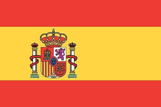Mi planeta gran 5 'x3' bandera de España español Premium calidad partidario  Fans bandera de decoración: Amazon.es: Jardín
