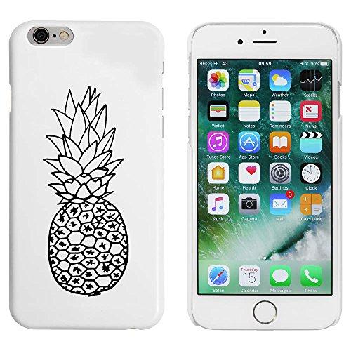 Blanc 'Ananas' étui / housse pour iPhone 6 & 6s (MC00017494)