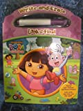 DORA WRITE AND ERASE LOOK AND FIND