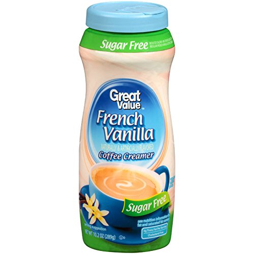 (Great Value Sugar Free French Vanilla Coffee Creamer ( One Bottle))