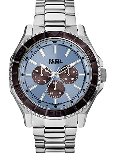 ice blue dial watch - 4