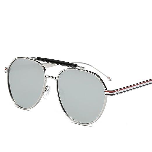 Wkaijc Retro Rundes Gesicht Sonnenbrille Mode Persönlichkeit Bequem Elegant Männer Und Frauen Sonnenbrillen ,B