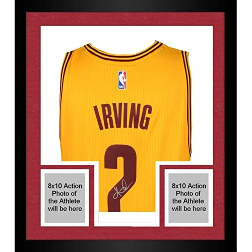 a84e7a91eaa best Framed Kyrie Irving Cleveland Cavaliers Autographed Gold Swingman  Jersey - Panini - Fanatics Authentic Certified
