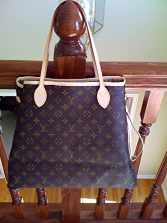 78f86cc047c AUTHENTIC LOUIS VUITTON MONOGRAM NEVERFULL GM (Receipt Included): Amazon.co. uk: Clothing