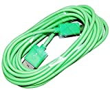 Green 10 Foot Micro USB Cable For Sony Xperia Z3 Z4 E4 M4 Aqua Z2 C4 Z3+ Ericsson Phone Android Ten Feet Extra Long XL