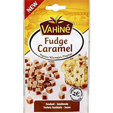 Vahine Pepitas De Confiteria Tiernas Fudge Sabor Caramelo 70G: Amazon.es: Alimentación y bebidas