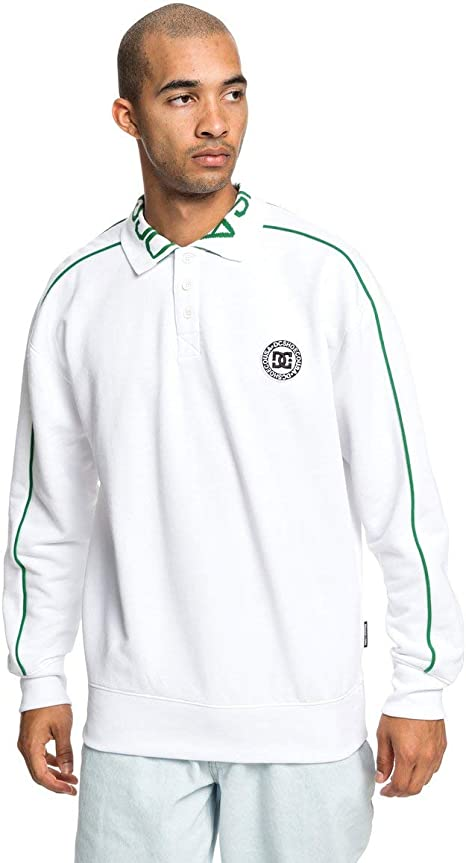 DC Shoes Springhill - Sudadera Polo - Hombre - M: DC Shoes: Amazon ...