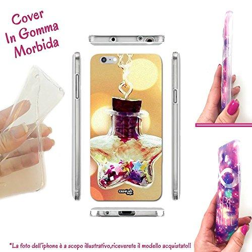 CASELABDESIGNS COVER CUSTODIA MORBIDA STAR BOTTLE PER IPHONE 8 TPU - SCOCCA IN SILICONE PROTETTIVA ANTIURTO