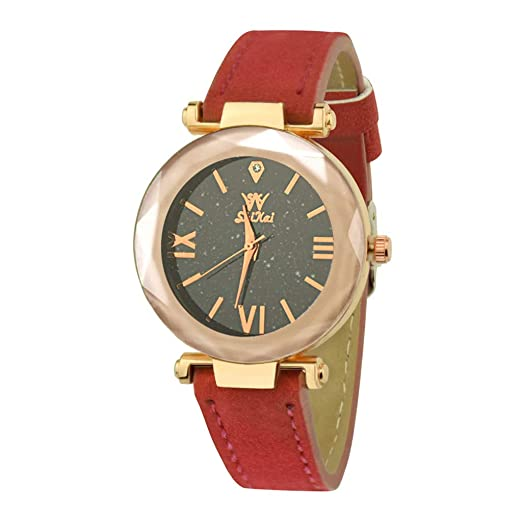Kanpola SHIKAI Correa de Cuero para Mujer Regalo Creativo Reloj de Cuarzo ZYBSK-35 Colección Lady: Amazon.es: Relojes