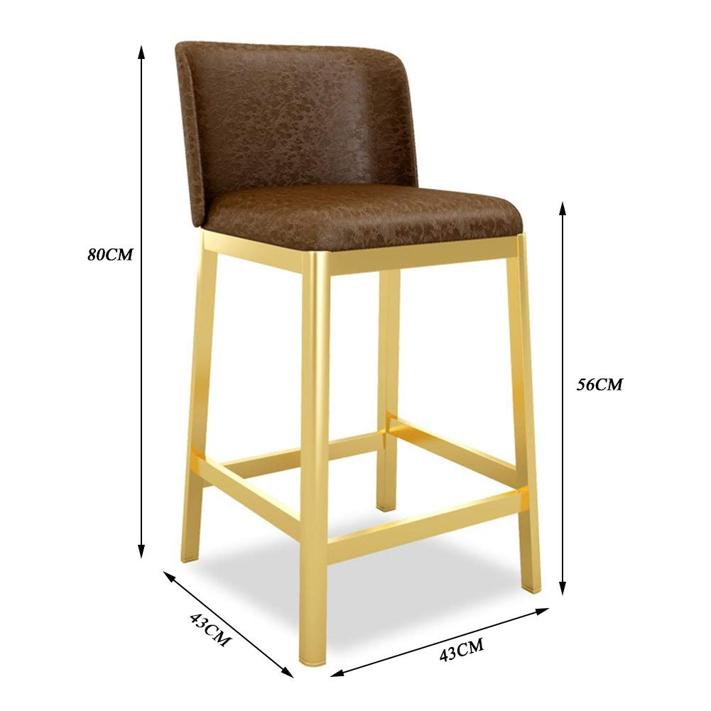 Miraculous Amazon Com Barstools Modern Minimalist Bar Chair High Stool Squirreltailoven Fun Painted Chair Ideas Images Squirreltailovenorg