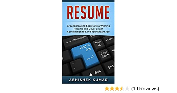 Resume Writing A Job Hunters Manual To A Winning Resume And Cover