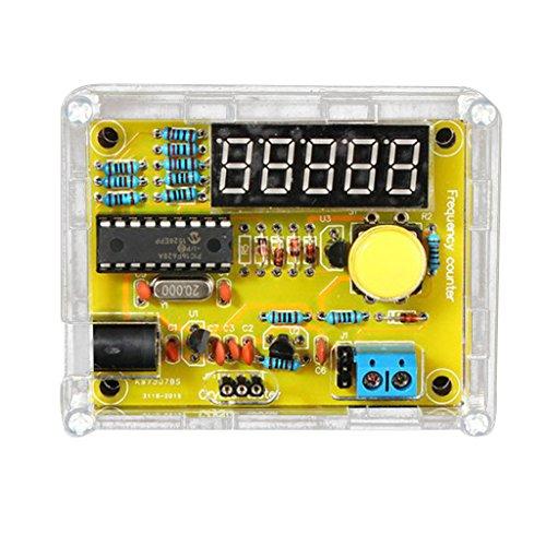 KESOTO 1Hz〜50MHz 水晶周波数計 テスター 測定 LED 5桁 DIYキット