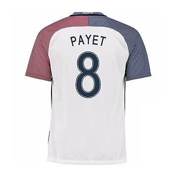 ee660ea87e4d 2016-17 France Away Shirt (Payet 8) - Kids  Amazon.co.uk  Sports ...