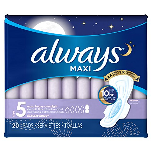 Always Extra Overnight Unscented Packaging product image