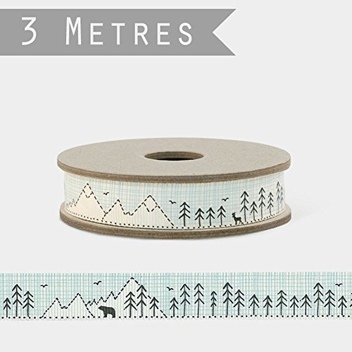 - EAST OF INDIA POLAR BEAR IN MOUNTAINS Ribbon 3m Grosgrain Craft