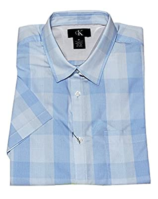 Calvin Klein Men's Short Sleeve Check Shirt