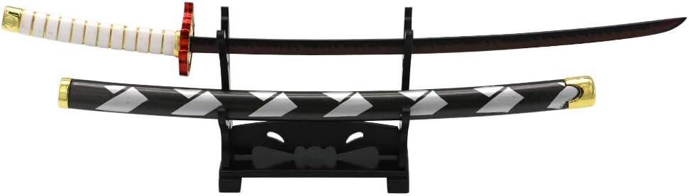 鬼滅の刃 炎柱・煉獄杏寿郎 れんごくきょうじゅろうモデル ペーパーナイフ 展示台付き 日輪刀モデル