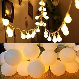 FANSIR Cadena de luces funciona con pilas