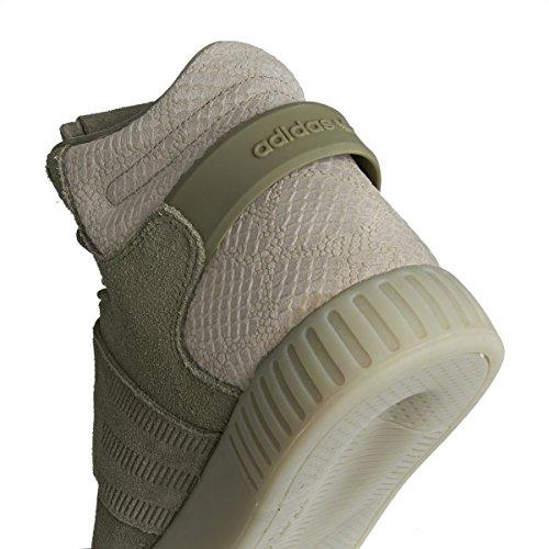 Mixte Strap Adidas Baskets Montantes Adulte Tubular Invader Beige wAqOXqBR