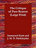 The Critique of Pure Reason, Immanuel Kant, 1406834076