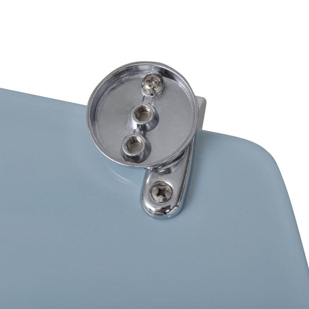 vidaXL Abattant de WC avec Couvercle Design Galets Cuvette de WC Toilette