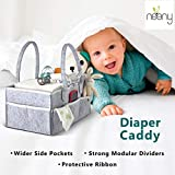 NEENY Baby Diaper Caddy Organizer Portable Changing