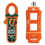 Extech MA435T 400A True RMS AC/DC Clamp Meter Plus NCV with AC Line Splitter