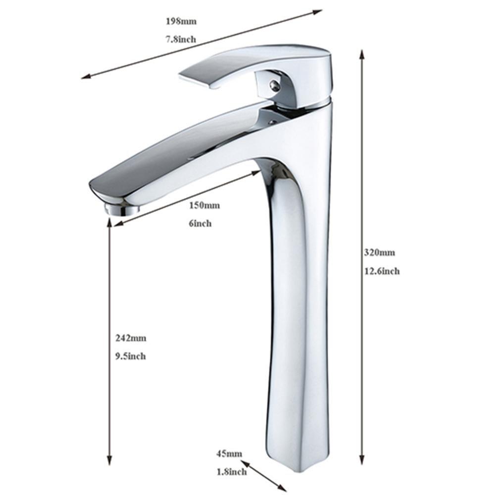 100004 Jduskfl Faucet Kitchen Faucet Net Faucet Bathroom Faucet Hot Sale Best Quality Wash Basin Sink Mixer Taps for Bathroom Oil Rubbed Bronze Faucet,100011
