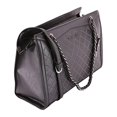 Trussardi Jeans Borsa A Mano Black 75B00201.1Y000053