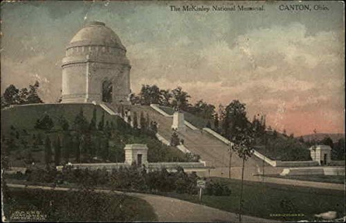 The McKinley National Memorial Canton, Ohio Original Vintage - Mckinley Memorial Ohio Canton