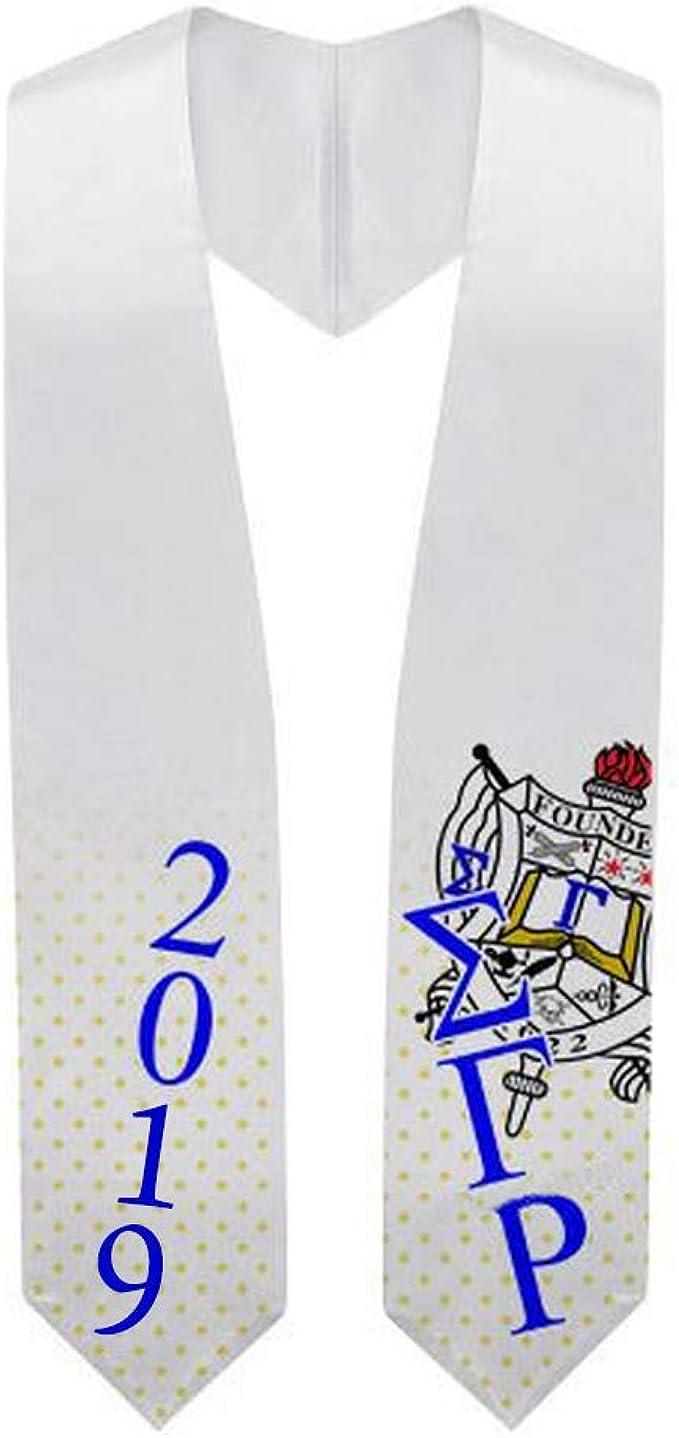 Custom Alpha Gamma Rho Embroidered Graduation Sash Stole